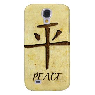 Caja de la mota del iPhone 3 de la paz