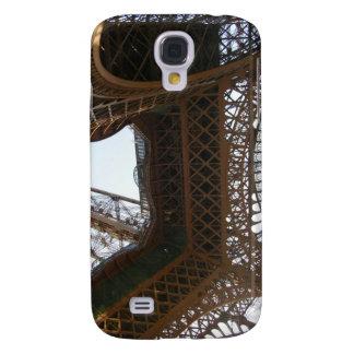 Caja de la mota del iPhone 3 de la torre Eiffel Funda Para Galaxy S4