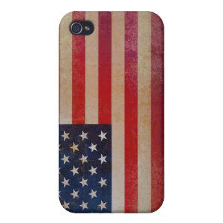 Caja de la mota del iPhone 4/4s de la bandera de iPhone 4 Carcasa