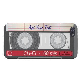 Caja de la mota del iPhone 4/4s de la cinta de cas iPhone 5 Carcasa