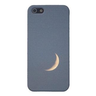 Caja de la mota del iPhone 4/4s de la luna iPhone 5 Carcasa