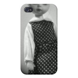 """Caja de la mota del iPhone 4/4S de la """"muñeca fant iPhone 4 Carcasas"""