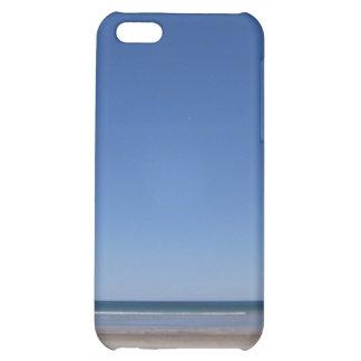 Caja de la mota del iPhone 4/4s de la playa y del