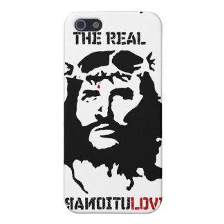Caja de la mota del iPhone 4/4S del Jesucristo iPhone 5 Cárcasas