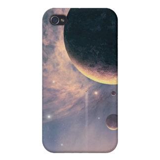 Caja de la mota del iPhone 4/4s del planeta iPhone 4/4S Carcasa