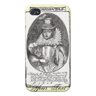 Caja de la mota del iPhone 4 de Pocahontas iPhone 4/4S Fundas