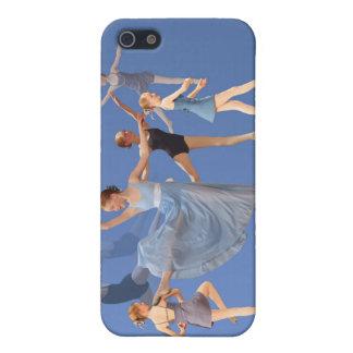 Caja de la mota del iPhone 4 del bailarín de balle iPhone 5 Carcasas