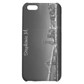 Caja de la mota del iPhone 4 del horizonte de San