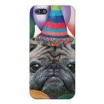 Caja de la mota del iphone 4 del perro del barro a iPhone 5 carcasas