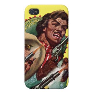 Caja de la mota del iPhone de las pistolas del due iPhone 4/4S Carcasas