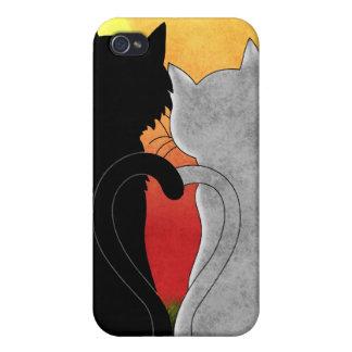 """Caja de la mota del iPhone de """"Purrfect"""" iPhone 4/4S Carcasas"""