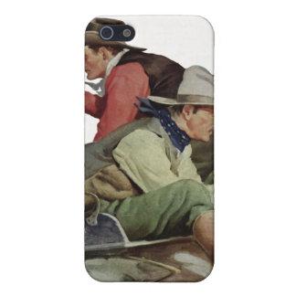 Caja de la mota del iPhone del ataque de la iPhone 5 Carcasas
