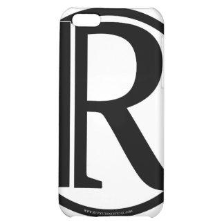 Caja de la mota del iPhone del logotipo del círcul