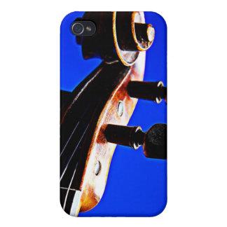 Caja de la mota del iphone del violín o de la viol iPhone 4/4S carcasa