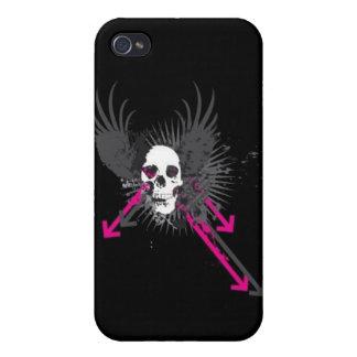 caja de la mota del iphone iPhone 4 cárcasa