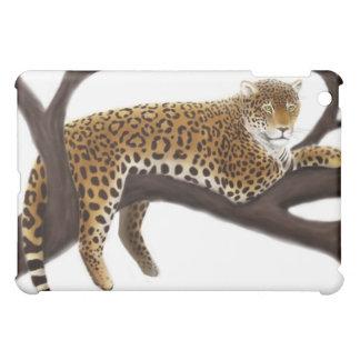 Caja de la mota del leopardo en descanso