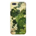 Caja de la mota del paisaje iPhone 5 cárcasa