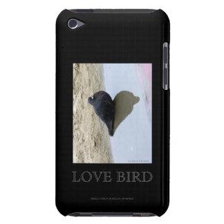 Caja de la mota del pájaro del amor iPod touch Case-Mate cárcasa
