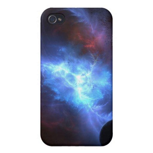 Caja de la mota del pulsar (iPhone 4) iPhone 4 Carcasa