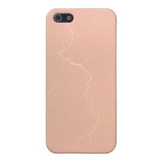 Caja de la mota del relámpago Iphone4/4s del meloc iPhone 5 Fundas