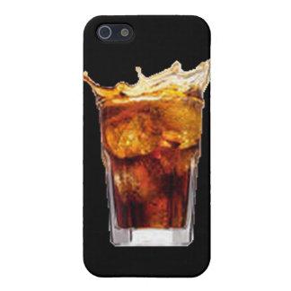 Caja de la mota del ron y de la cola iPhone 5 cárcasa