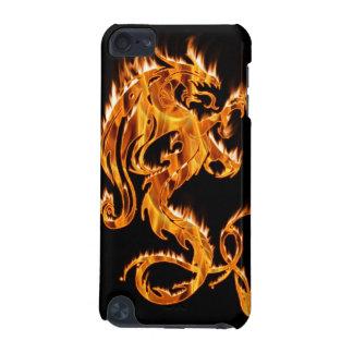Caja de la mota del tacto de iPod del dragón de la