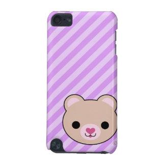 Caja de la mota del tacto de iPod del oso de peluc