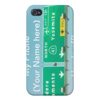 Caja de la mota del teléfono 4 de Yosemite I iPhone 4 Carcasas