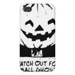 Caja de la mota del teléfono 4S de los fantasmas y iPhone 4 Cárcasa