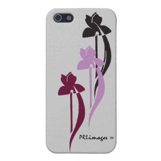 Caja de la mota del trío del iris para IPhone5 iPhone 5 Carcasa