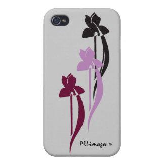 Caja de la mota del trío del iris para IPhone 4/4s iPhone 4/4S Funda