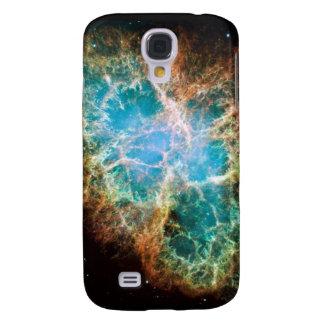 Caja de la nebulosa de cangrejo iphone3 samsung galaxy s4 cover