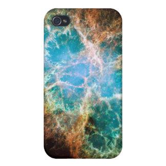 Caja de la nebulosa de cangrejo iphone4 iPhone 4/4S carcasa