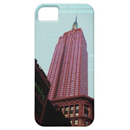 Caja de la niebla IPhone5 de NY iPhone 5 Cárcasas