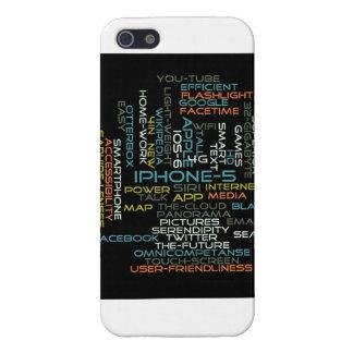 caja de la nube de la palabra del iPhone 5 iPhone 5 Carcasa