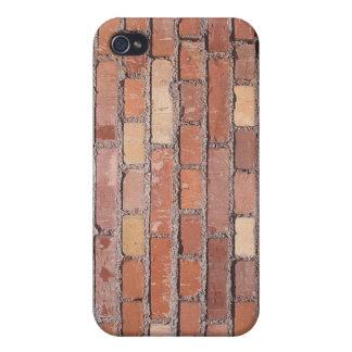 Caja de la pared de ladrillo iPhone 4 protector