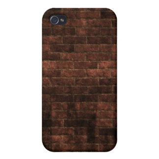 Caja de la pared de ladrillo para el iPhone 4 iPhone 4 Carcasas