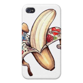 caja de la piel de plátano iPhone4 iPhone 4 Fundas