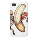 caja de la piel de plátano iPhone4 iPhone 4 Funda