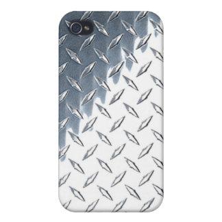 Caja de la placa iPhone4 del diamante iPhone 4 Carcasas