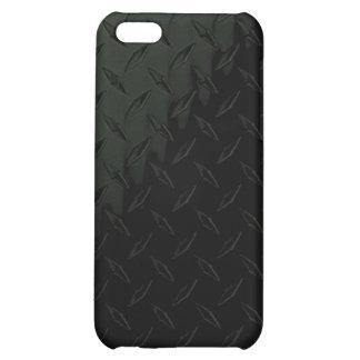Caja de la placa iPhone4 del diamante negro
