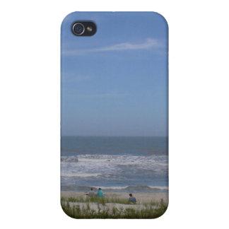 Caja de la playa de IPhone 4 iPhone 4 Cobertura