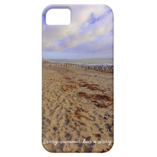 Caja de la playa iPhone5 Funda Para iPhone 5 Barely There