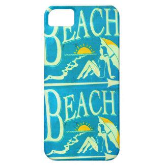 caja de la playa iPhone 5 fundas