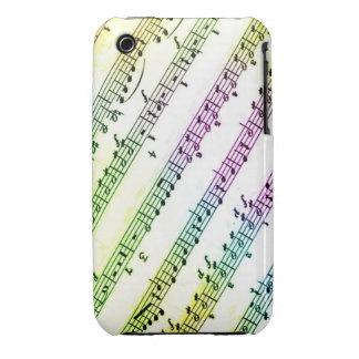 Caja de la recaudador de fondos de la música del a Case-Mate iPhone 3 cobertura
