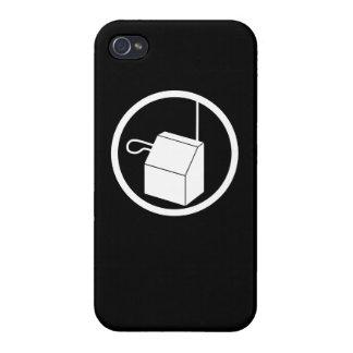 caja de la roca de Theremin del iPhone 4 iPhone 4/4S Fundas