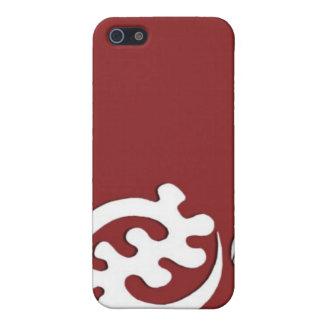 caja de la sangría del nyame del gye del adinkra ( iPhone 5 carcasas