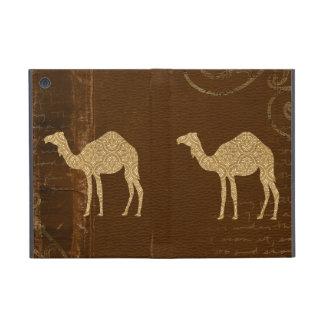 Caja de la silueta del camello iPad mini cobertura