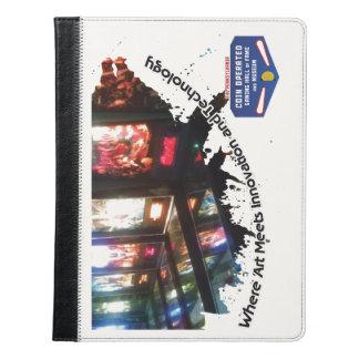 Caja de la tableta del salón de la fama del juego