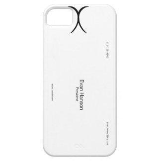 Caja de la tarjeta de visita funda para iPhone 5 barely there